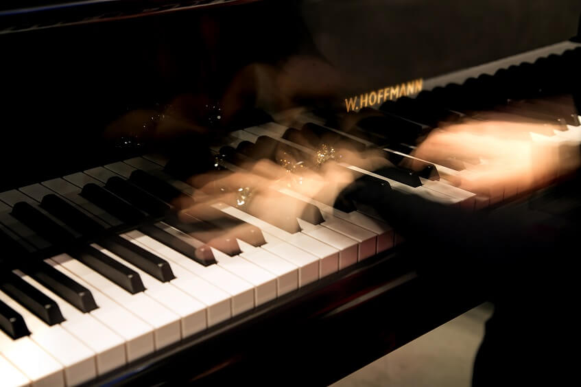 Klänge der Stille Klavier